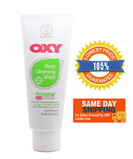 Mentholatum Oxy Deep Cleansing Wash Acne Pimple Blackhead 100g Fast Shipping!