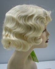 FINGERWAVE Wig .. New!  Pale Blonde - Theatre. Rose Wig .. BEST SELLER! *