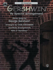 Gershwin Alto Saxophone Sax Sheet Music Book CD Learn