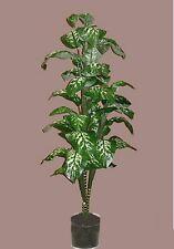 6' SILK PLANT ARTIFICIAL PALM TREE ARRANGEMENT FLORAL BUSH IN POT FLOWER TOPIARY