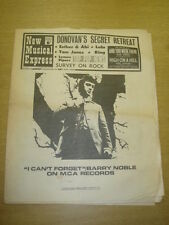 NME #1104 1968 MAR 9 BARRY NOBLE DONOVAN TOM JONES LULU LEMON PIPERS KING