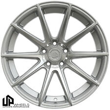 """19"""" ULTIMATE PERFORMANCE UP100 SILVER MACHINED FACE CONCAVE WHEELS RIMS FITS JDM"""
