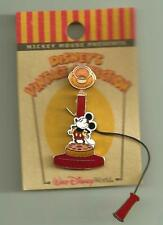 WDW LE VINTAGE COLLECTION MICKEY RETRO TELEPHONE DISNEY PIN ON ORIGINAL CARD