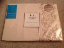 Dorma Harrods Camille 2 Pillowcase Gold Embroiled 48 76 Cotton HRH Queen Charles