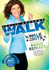 Leslie Sansone: Walk to the HITS Radio Remixes New DVD! Ships Fast!