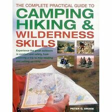 Drake, Peter G.-Complete Practical Guide To Camping, Hiking & Wildernes BOOK NEW