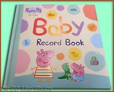 PEPPA PIG BABY RECORD BOOK - HARDCOVER  - PENGUIN BOOKS - PERFECT GIFT - NEW
