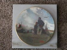 Retired LE Norman Rockwell's LOOKING OUT TO SEA Porcelain Collector Plate COA