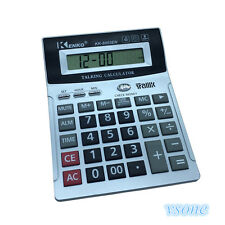 8 Digit English Talking Calculator With Alarm , Time Show, Check Money