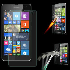 Tempered Glass Screen Protector Guard 2.5D Curve For Microsoft Lumia 630/635