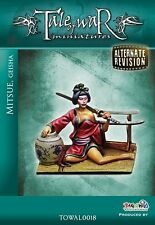 Tale of War Miniatures Mitsue Japonesa Geisha Girl