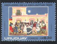 Uruguay 1976 Slavery/Abolition/Art/People/Paintings/Artists 1v (n40391)