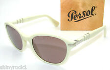 Authentic PERSOL Capri Edition Polarized Sunglasses PO 3025 - 963/4P NEW 53mm