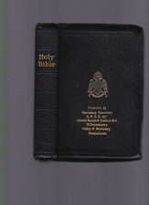 The Holy Bible: The Great Light in Masonry containing the Old and New Testaments