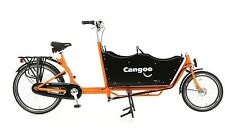 Bakfiets Downtown Plus 3 KinderTransportrad Lastenfahrrad 7 G Shimano Nexus oran