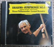 Brahms Symphony No.4 Bernstein Vienna 1st First Press DG 410 084 W. Germany