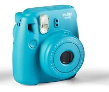 Fujifilm Instax Mini 8 Instant Film Camera, Tile Blue
