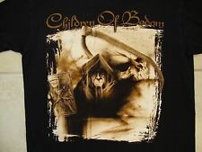 Children of Bodom COB Heavy Death Metal Music Graveyard Grim Reaper T Shirt L