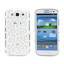 Schutz Hülle Hard Case Cover für Samsung Galaxy S3 Neo i9300 weiß Muster Z
