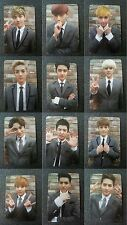 EXO 12 pcs ALL MEMBER Official Photo Card 1st Repackage Ver.A Growl Korea Ver