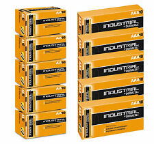 100 DURACELL INDUSTRIAL 50 AA & 50 AAA ALKALINE BATTERIES REPLACES PROCELL