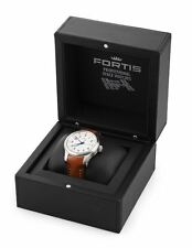 GENTLEMAN'S FORTIS B-42 AUTOMATIC TITANIUM CASED WRISTWATCH,ORIGINAL BOX, PAPERS
