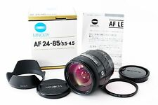 MINOLTA AF ZOOM 24-85mm F/3.5-4.5 AF Lens W/Box From Japan #153946