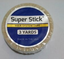 """Walker Super Stick Tape Roll Double Sided Lace Wigs Toupees (1/2"""" x 3 Yards)"""