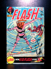 COMICS: DC: The Flash #202 (1970), Kid Flash extra story -RARE (superman/batman)