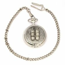 Air Tanks Pocket Watch Gift Boxed With FREE ENGRAVING Diving Gift