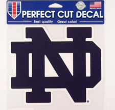"""NOTRE DAME 8"""" x 6.5"""" Decal Collage Football ND NCAA 001"""