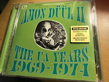 Amon Duul II The UA Years 1969-1974 Collector's Edition GOLD cd Dig Remaster