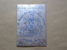 Her Majesty The Queens Silver Jubilee Souvenir Diary 1977