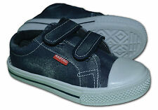 Boys/Girls Canvas Pumps/Plimsoles, Colour Navy, Size UK12.5 (EUR31),Free Postage