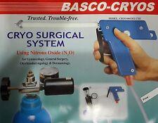 SUPER DELUXE CRYO SILENCER GUN WITH CO2 ADAPTOR USA COMPATIBLE CRYO 004