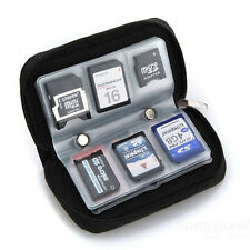 Micro SD Memory Card Storage Case Bag Black Pouch Holder Carrying Wallet мешок