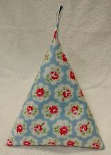 Bean bag cushion stand for iPad tablet kindle book. Cath Kidston Rose Oil Cloth.