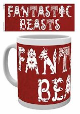 Harry Potter Fantastic Beasts Mug Brand New Official Gift Magical Wizard