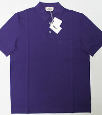 HERMES Men's Casual Sport Golf Polo Shirt New Medium