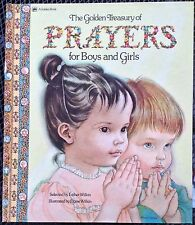 Golden Treasury of Prayers for Boys and Girls c1975, VGC Hardcover