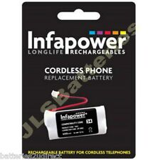 34H CORDLESS TELEPHONE BATTERY 2.4V 600mAH BC101686