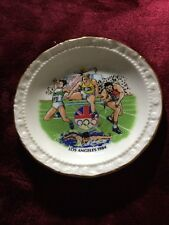 Miniature Olympic Games Los Angeles 1984 Decorative Plate
