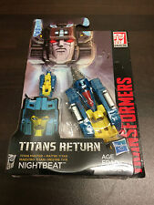 Transformers Titans Return Titan Master Nightbeat NEW