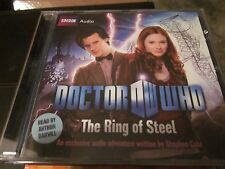 Doctor Who The Ring Of Steel CD Audio Book Stephen Cole Matt Smith FASTPOST