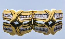 14kt Gold and Diamond Earrings approx. .50ct TDW