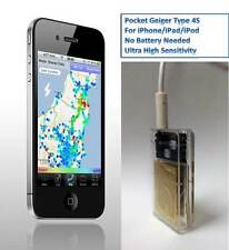 Radiation Detector-Pocket Geiger Type 4S for iOS-Turn iOS to Radaition Detector
