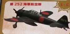 F-Toys 1/144 scale WKC versus series 4 WW 2IJN Mitsubishi A6M type 52 Zero 1C