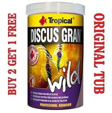DISCUS GRAN WILD Premium Complete Food for Tropical fish GENUINE TUB 250ml/85g.