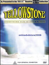 IMAX - YELLOWSTONE - Everything Else is Just a Movie - DVD (NEW SEALED)