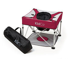 Kidco Go-Pod Plus Portable Folding Activity Seat in Cranberry P7100 NEW!